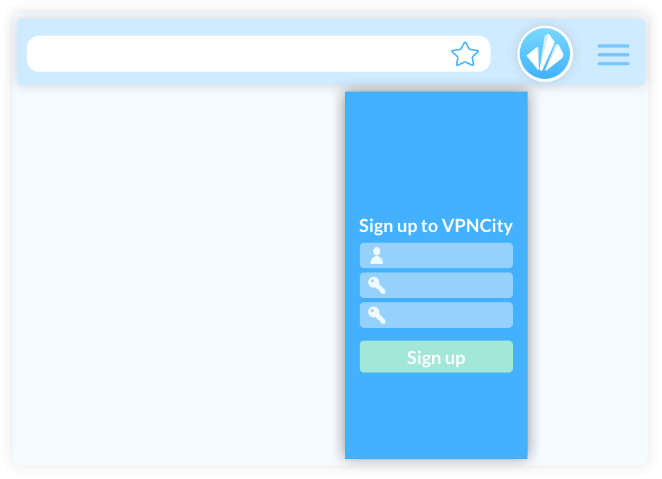 VPNCity Chrome Extension image