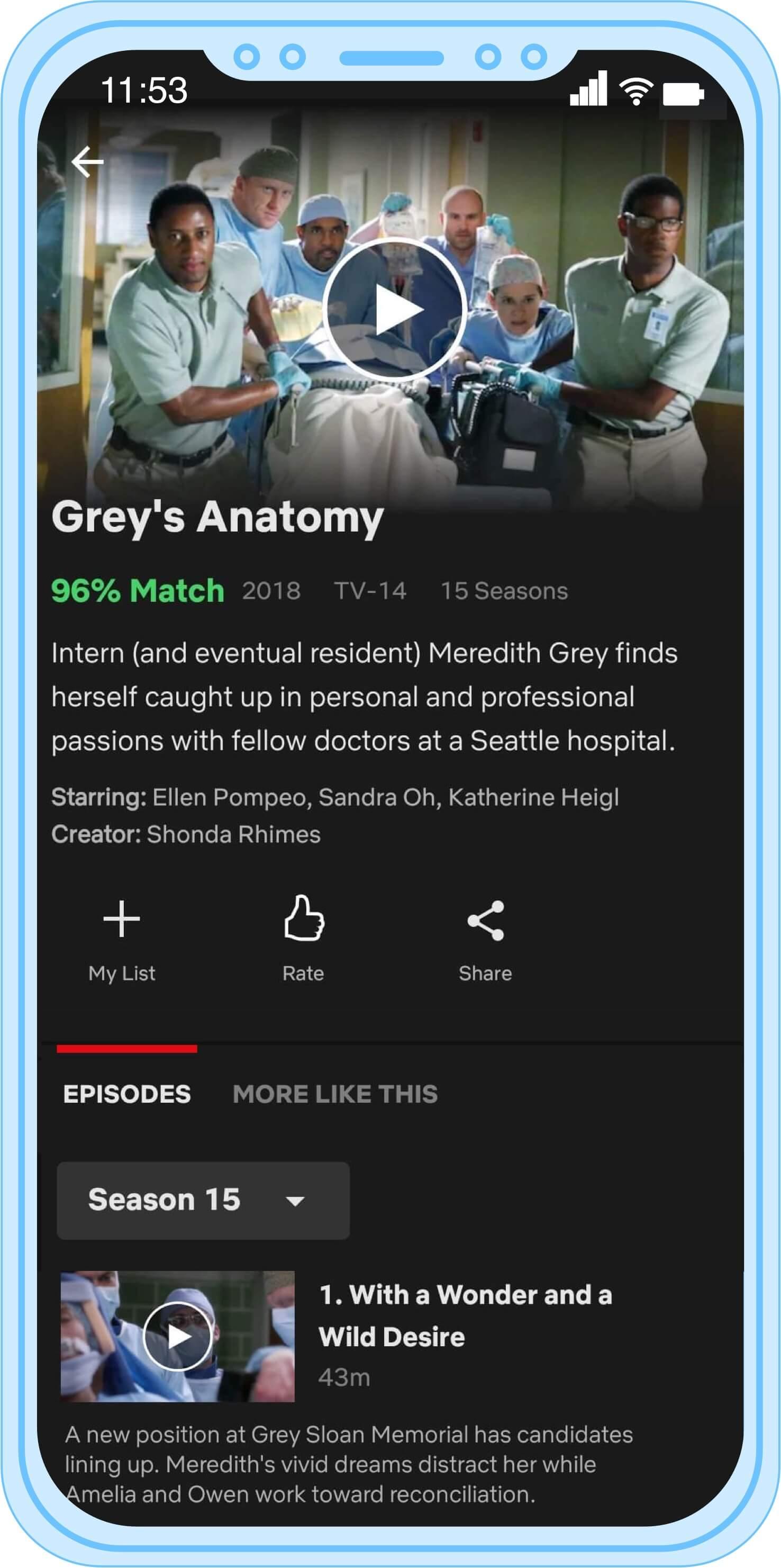 Anatomy watch online free greys Grey's Anatomy