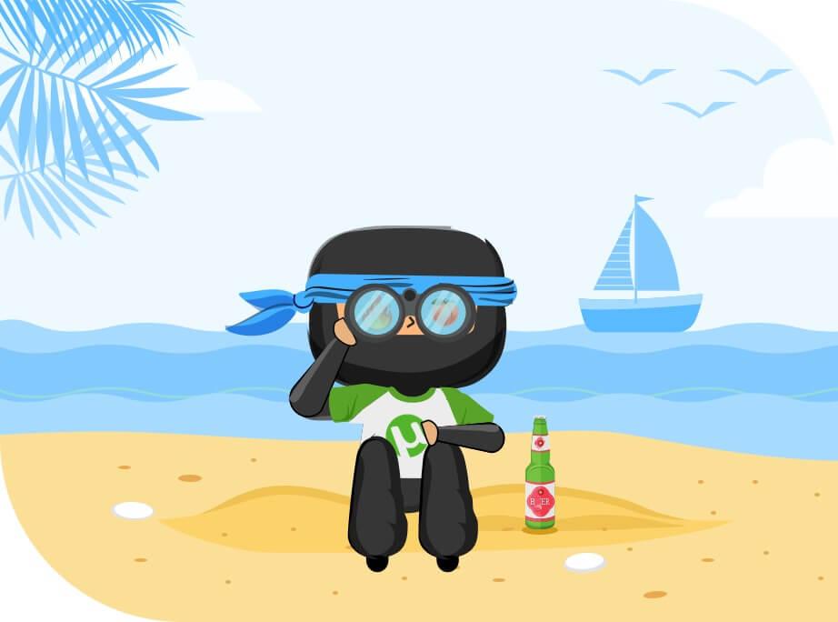 Travelling Ninja VPNCity
