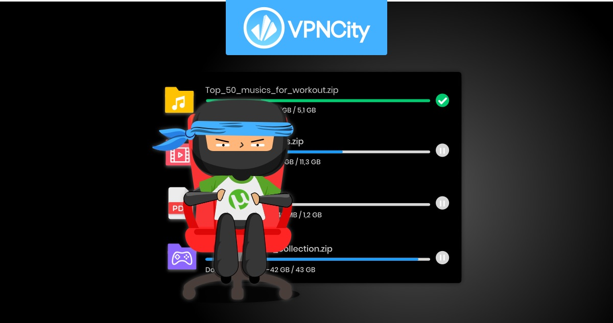 VPN for Torrenting   VPNCity